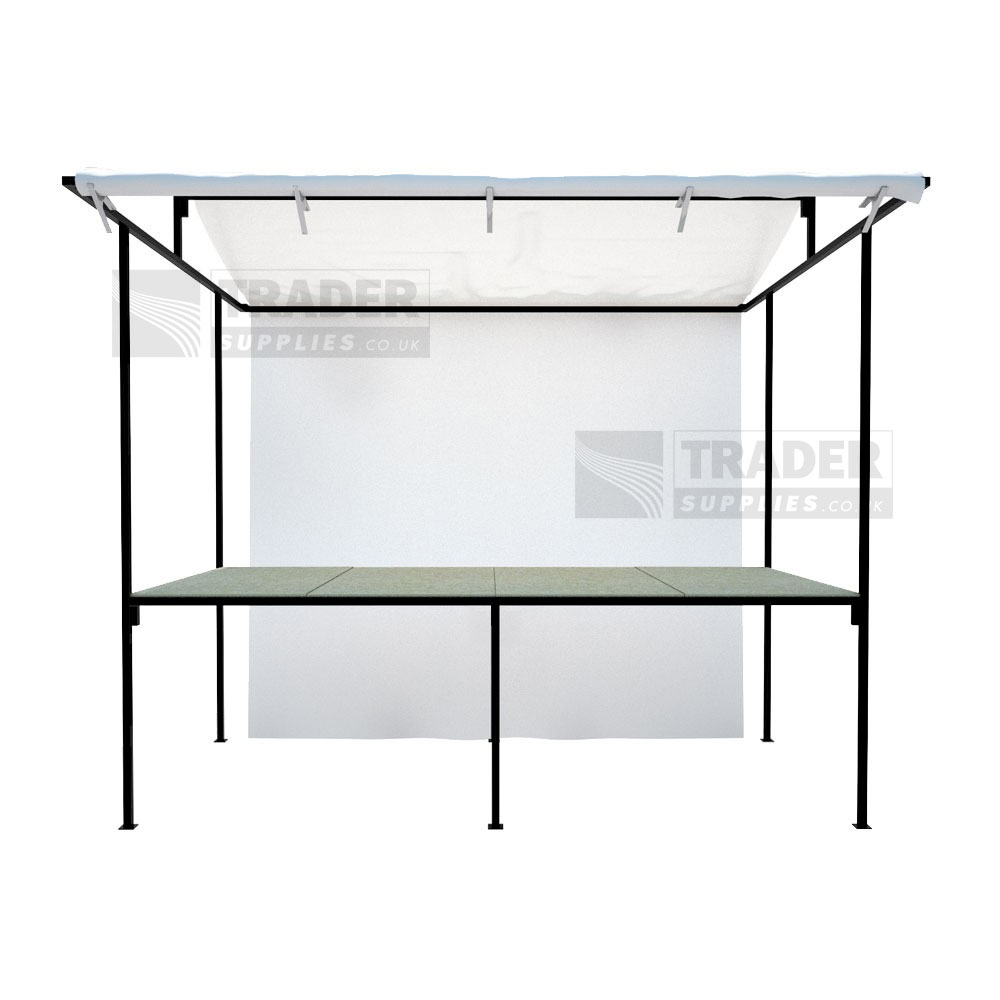Market Stall Traditional Steel Frame 1 8m X 1 2m Outdoor