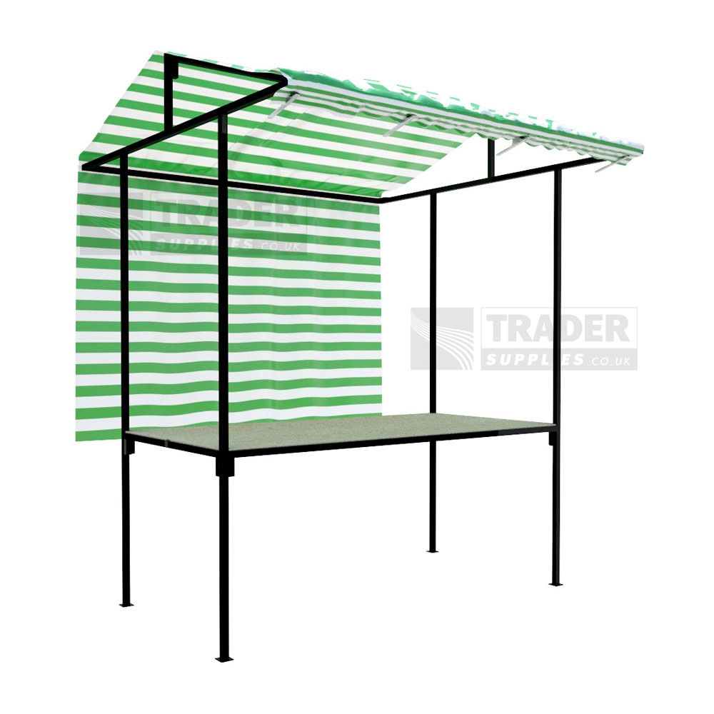 Tansley Market Stall Traditional Steel Frame 1 8m X 0 9m