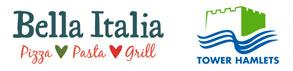 Bella Italia and Tower Hamlets Market Stalls