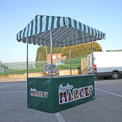 Custom Printed Market Stall for Dundas Indoor Market