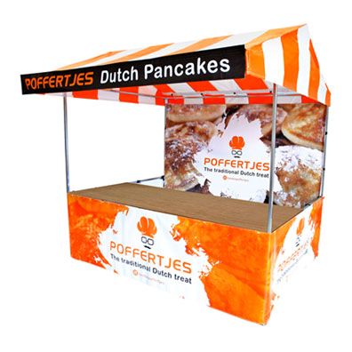 Branded Market Stall for Dutch Pancakes