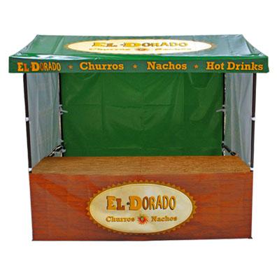 Branded Market Stall for Eldorado