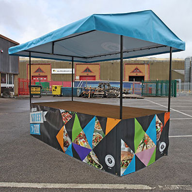 Branded Market Stall for Harrison Catering