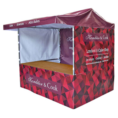 Branded Market Stall for Konditor and Cook