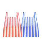 Candy Stripe Vest Carrier Bag