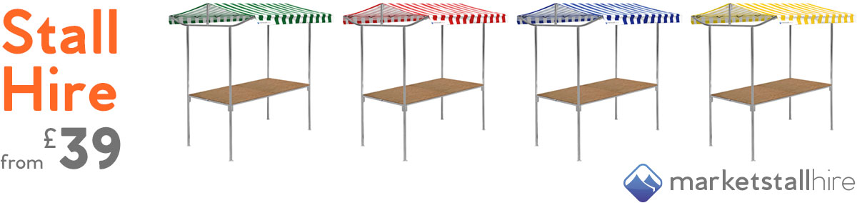 Market Stall Hire Self Assembly